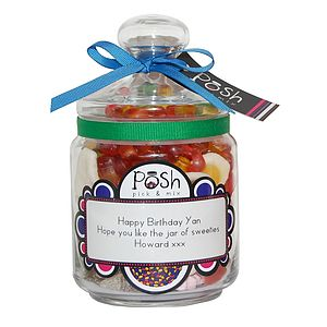 Personalised Sweet Jar - shop by category