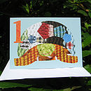 Age One Tortoise Card