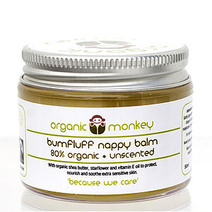 'Bumfluff' Unscented Nappy Balm - baby care