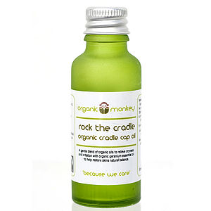 'Rock The Cradle' Organic Scalp Oil