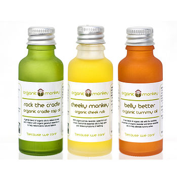 Relieving Baby Organic Trio Gift Set
