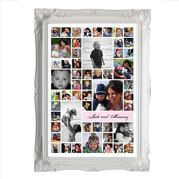 Mummy And Me Personalised Photo Montage