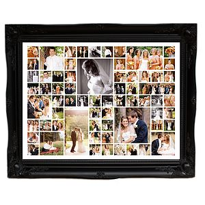 Personalised Wedding Photo Montage (Extra Large)
