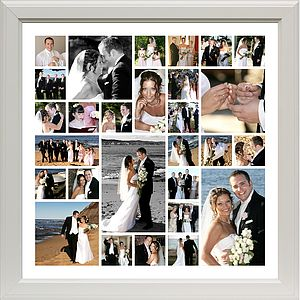 Personalised Wedding Photo Montage - picture frames