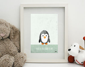 'Freeze A Jolly Good Fellow' Print Unframed