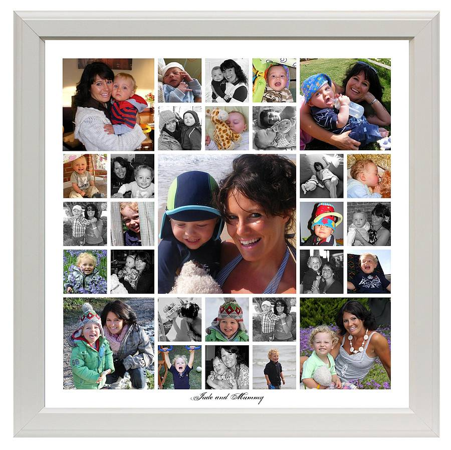 Personalised Collage Photo Frames India - Alpha Beta Demo