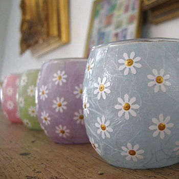 Small Daisy Votives