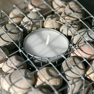 Pebblecube Tealight Holder