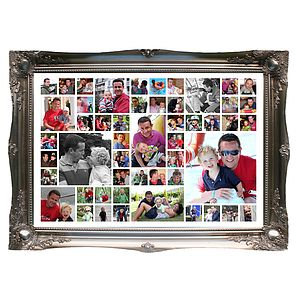 Daddy and Me Personalised Photo Montage - pictures & prints for children