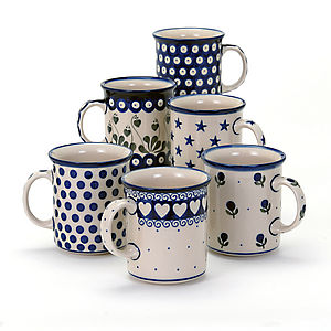 Straight Sided Mug - tableware