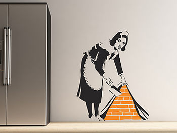 Medium Banksy Maid Room Image