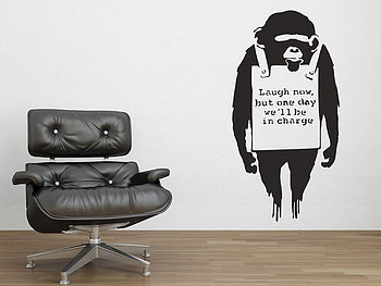 Banksy-monkey-sign