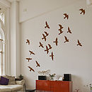 Flock Of Birds Wall Stickers