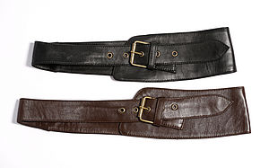 Handmade Malika Leather Belt - belts