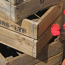 Wooden Crate Detail