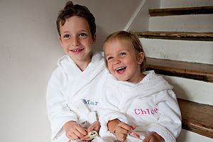 Personalised Child's Bathrobe - lounge & activewear