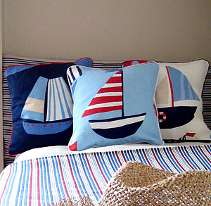 Maritime Mini Scatter Cushion - cushions