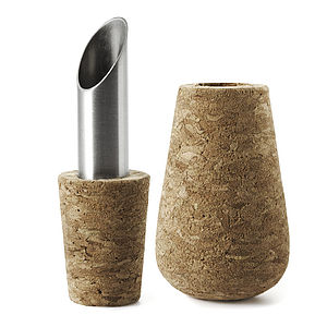 Cork Bottle Stoppers & Pourers