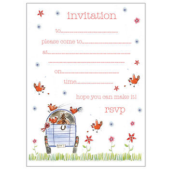 Horsing Around Invitations