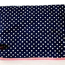 Wash Bag,Oilcloth Evie