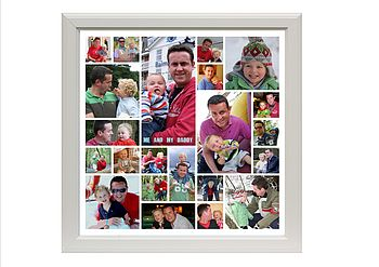 Daddy and Me Contemporary Photo Montage