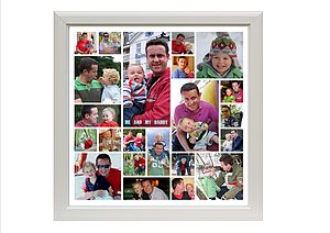 Daddy and Me Contemporary Photo Montage - photo albums
