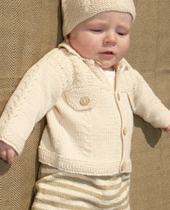 Handmade Organic Cotton Baby Denim Jacket - jumpers & cardigans