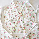 Rose Floral Bunting