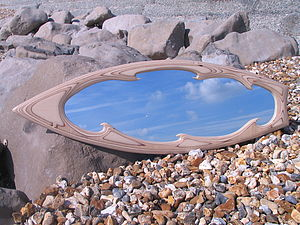 Surfboard Mirror, Eternal Wave Design - mirrors