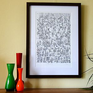 Boiler & Pipes limited edition print - contemporary art