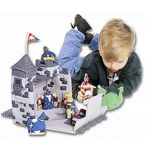 Medieval Castle Toy - soft toys & dolls