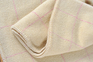 Pure Wool Single Blanket - throws, blankets & fabric