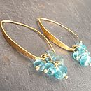 Morocco Gold Apatite Earrings