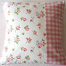 Rosebuds Cushion Cover
