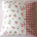 Rosebuds - Pink Gingham