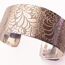 Volutes Swirly sterling Silver Cuff