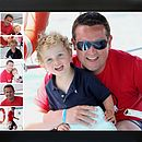 50 x 70 daddy and me film strip design
