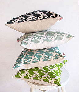 Cloud Bird cushion covers - living & decorating