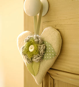 Flower Lavender Hearts