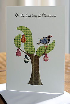 8 Partridge In A Pear Tree Christmas Cards