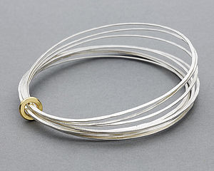 Ripple Multi Bangle - bracelets & bangles