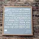 'Songbird' framed print
