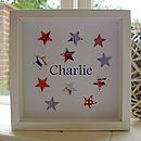 Personalised Paper Stars Picture