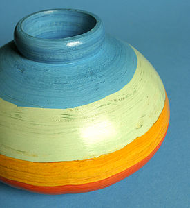 Handmade Decorative Paper Pot - home accessories