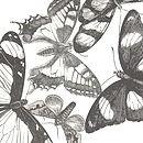 'Butterfly Heart' Print Detail