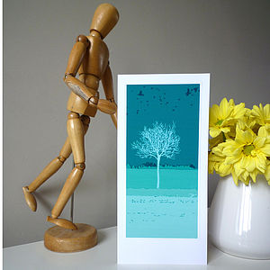 Tall Tree Greeting Card