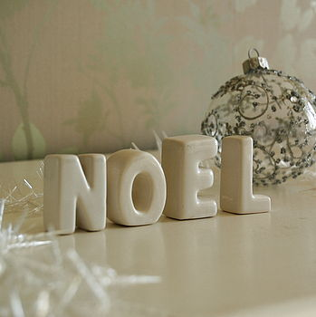 Christmas 'NOEL' Ornaments