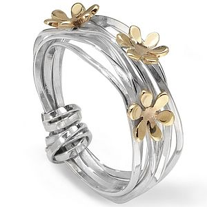 Scribbles Ring - wedding jewellery