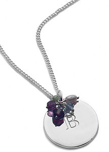 Personalised Silver Pendant Necklace - necklaces & pendants