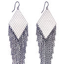 Diamond Tassle Earrings